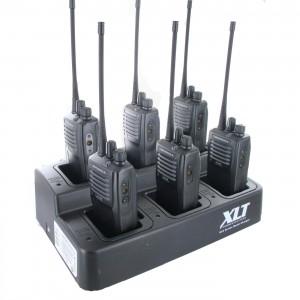 Motorola VX-261 Radio Six Pack + Multi-Charger