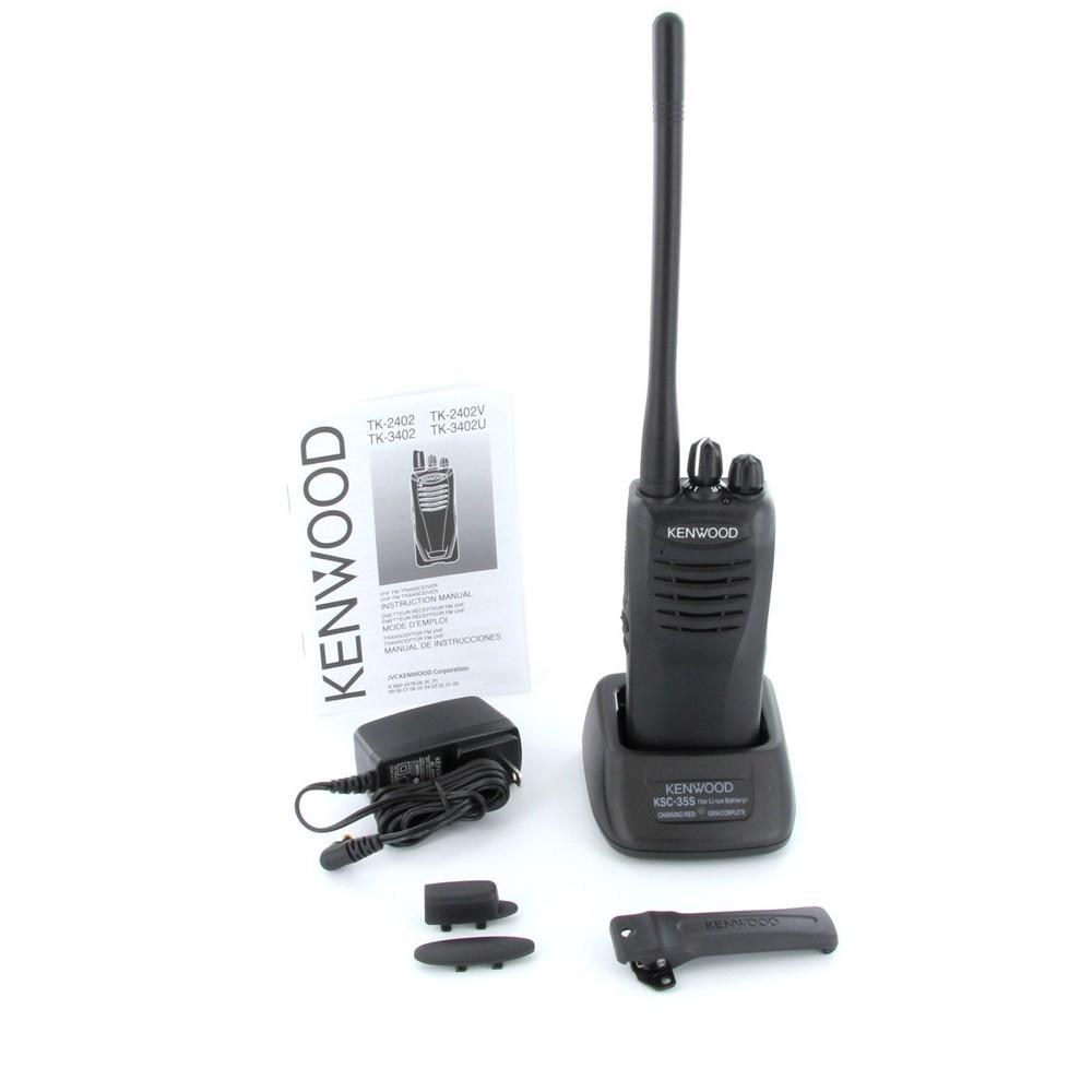 Kenwood Tk 2402 V16p Two Way Radio