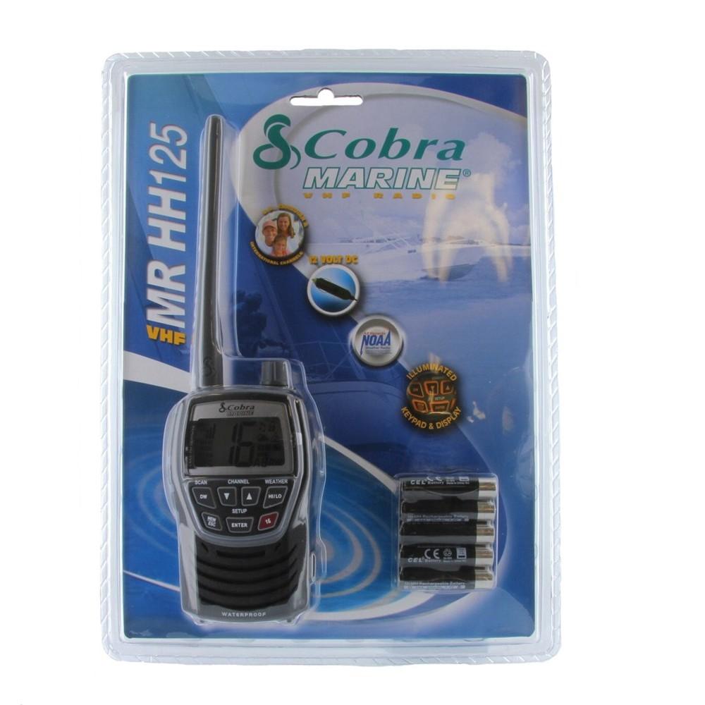 Cobra Marine Mr Hh125 Two Way Radio