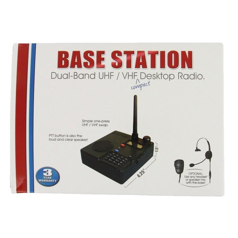 Blackbox Base Station Dual Band UHF/ VHF Desktop Radio