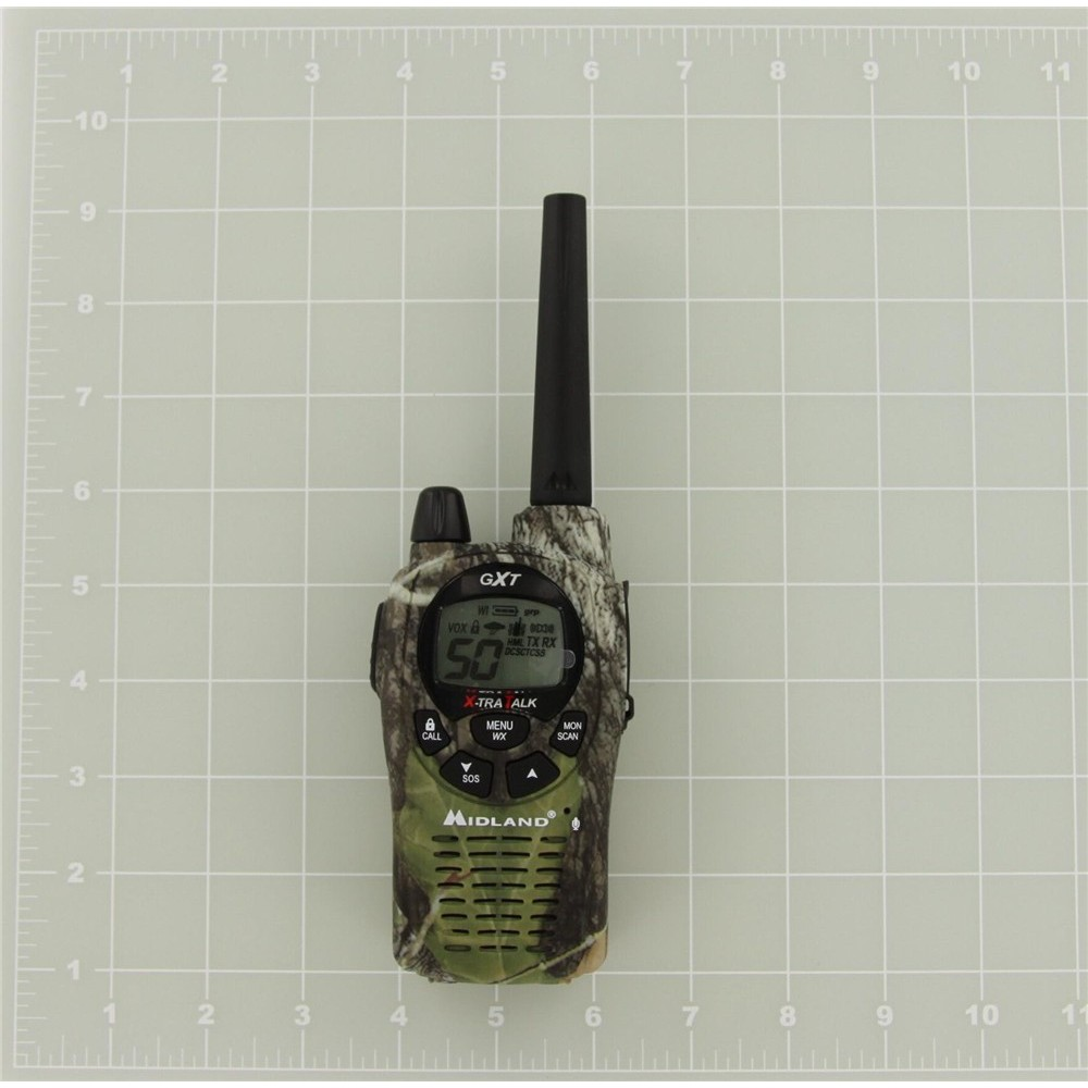 Midland GXT1050VP4 Radios With Headsets and Charger