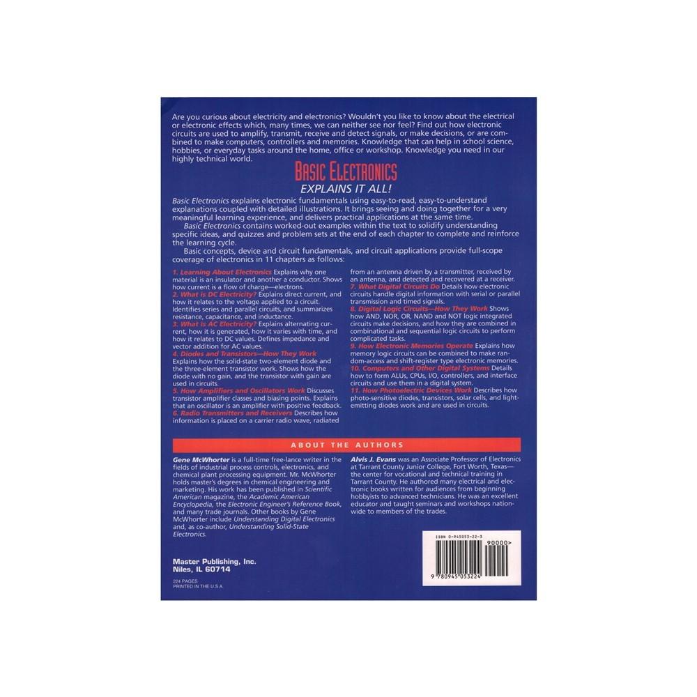 Basic Electronics - Entry Level Electronic Fundamentals Textbook