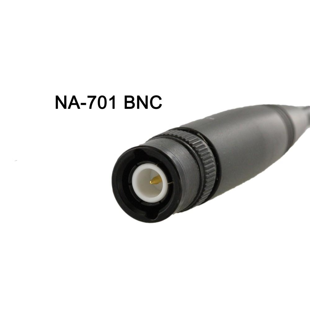 Nagoya NA-701 2m/70cm Dual Band Antenna (SMA F/SMA M/BNC)