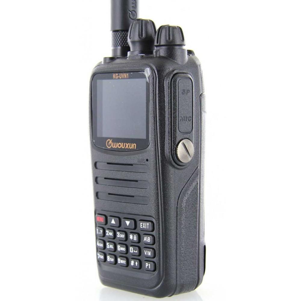 Wouxun KG-UVN1 Dual Band DMR Digital Two Way Radio