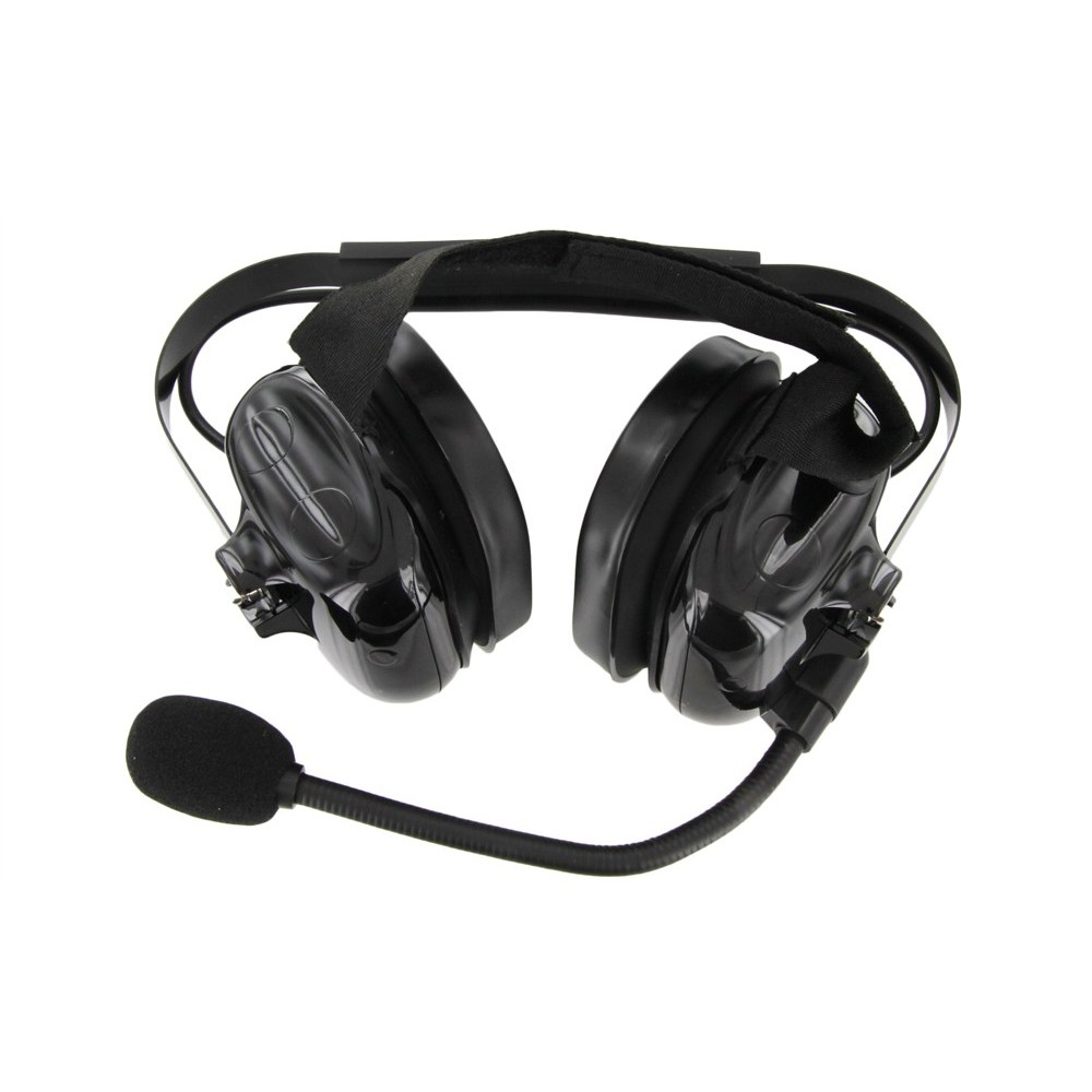 Xlt Hs500 Heavy Duty Dual Muff Headset With Ptt And Mic Kenwood Radio Wiring Diagram