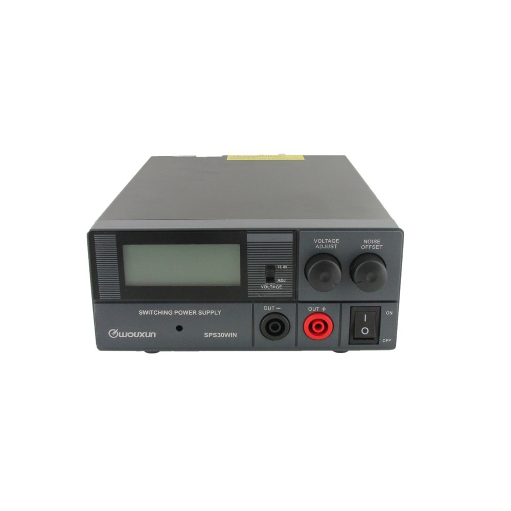 Wouxun SPS30WIN 30A Switching Power Supply with LCD