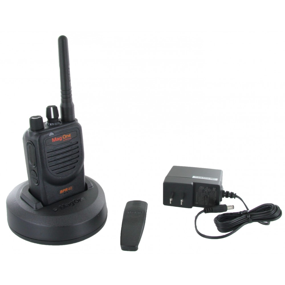 Mag one bpr40 portable two-way radio radio communications.