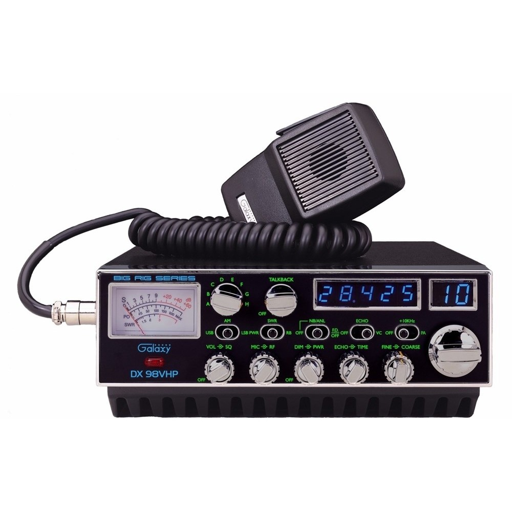 Galaxy DX 98VHP 10 Meter Amateur Mobile Radio on