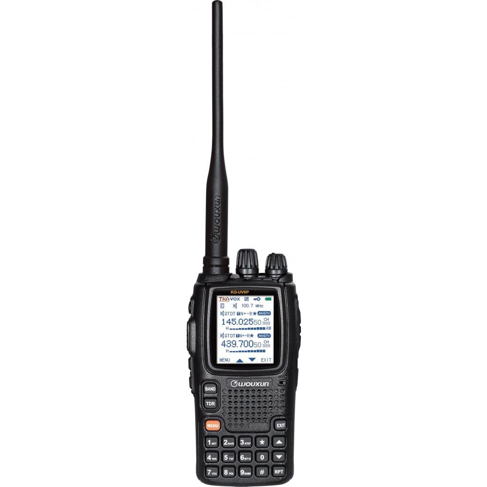 Wouxun KG-UV9P High Powered Dual Band UHF/VHF Amateur Radio w/ 3200 mAh  Battery