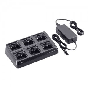 Icom BC-197-22 Multi-Unit (6) Desktop Charger