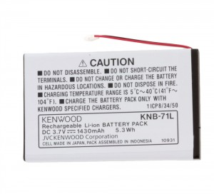 Kenwood KNB-71L Lithium Ion Battery Pack
