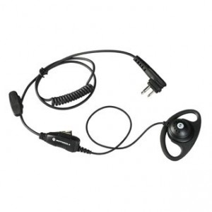 Motorola Earpiece with Push-To-Talk Microphone (HKLN4599A)