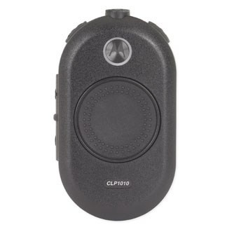 6 Motorola CLP1010 Two Way Radio Walkie Talkies with PTT Earpieces