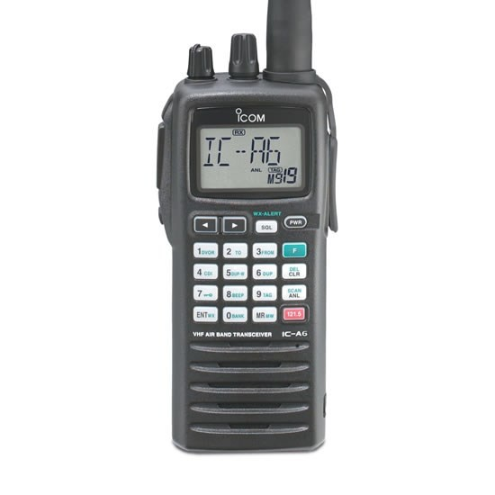 Icom IC-A6 VHF Air Band Radio