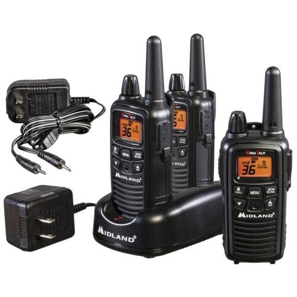 7f4a33e5922 Midland LXT633VP3 Two Way Radio Triple Pack