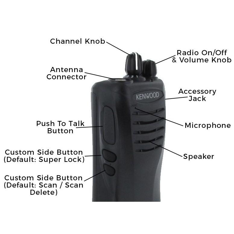 Kenwood TK-2402-V16P Two-way Radio