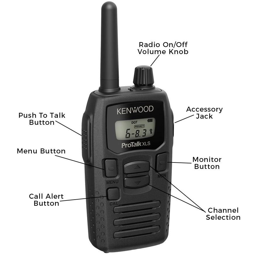 Kenwood ProTalk TK-3230DX Business Two Way Radio