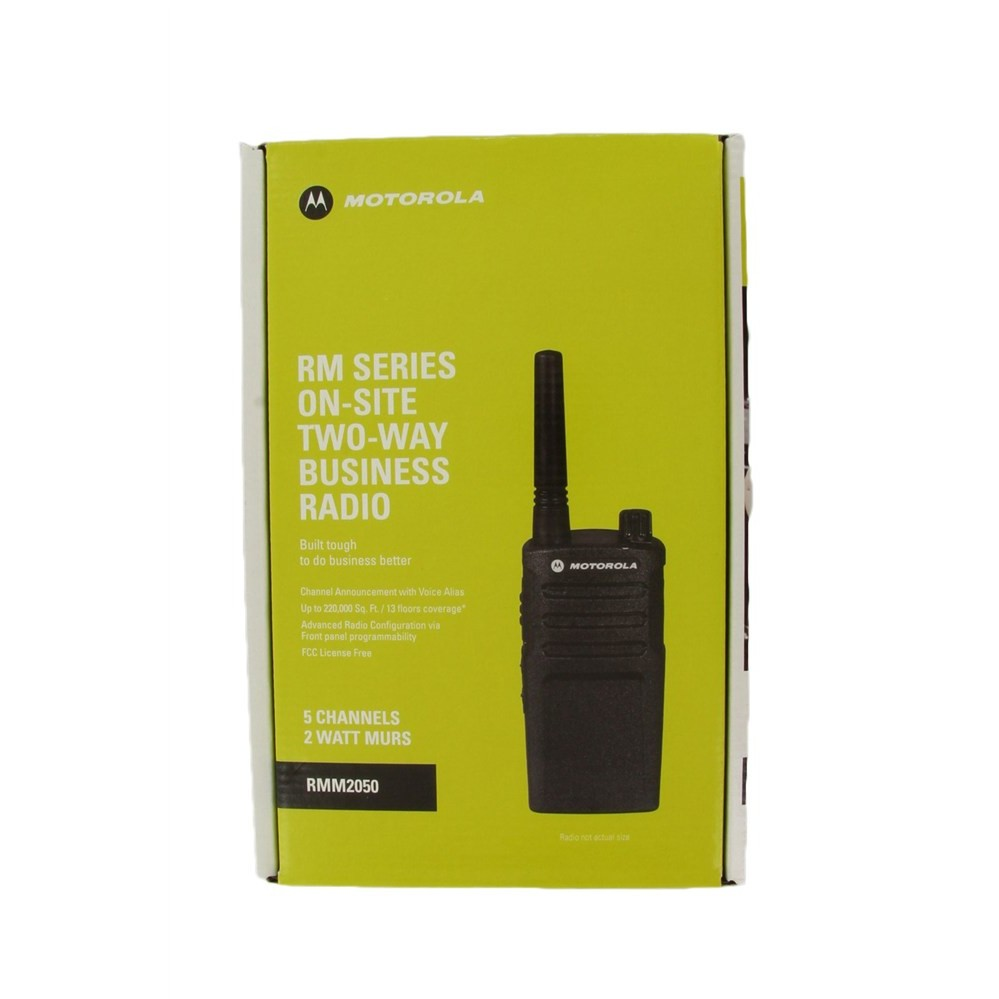 Motorola RMM2050 On-Site Two-Way Business Radio