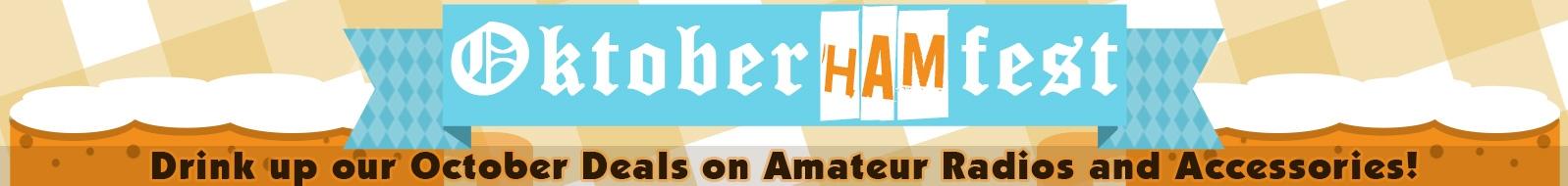 OktoberHamFest Promotion