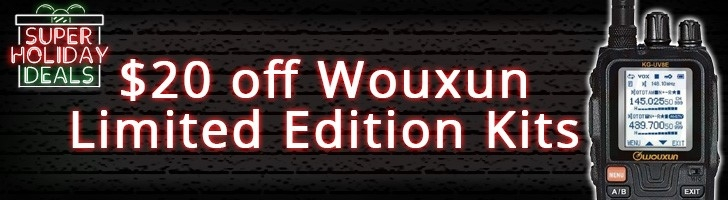 Get $20 off Wouxun Limited Edition Kits!