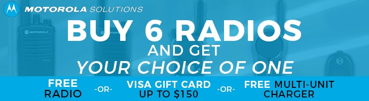 Buy Six Radios, Get a Free Gift!
