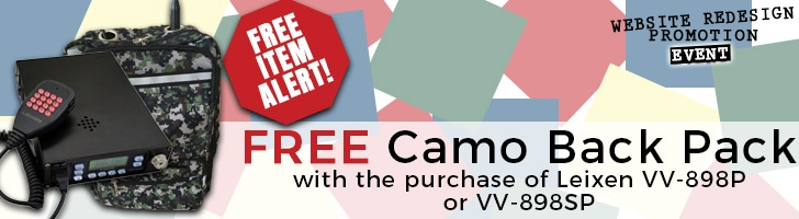 Free CAMO Backpack Bag Promotion