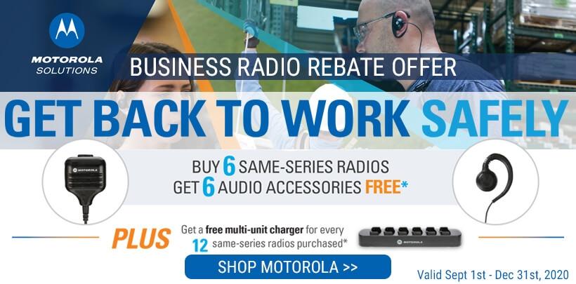 Motorola Get Back To Work Safely Rebate Offer!