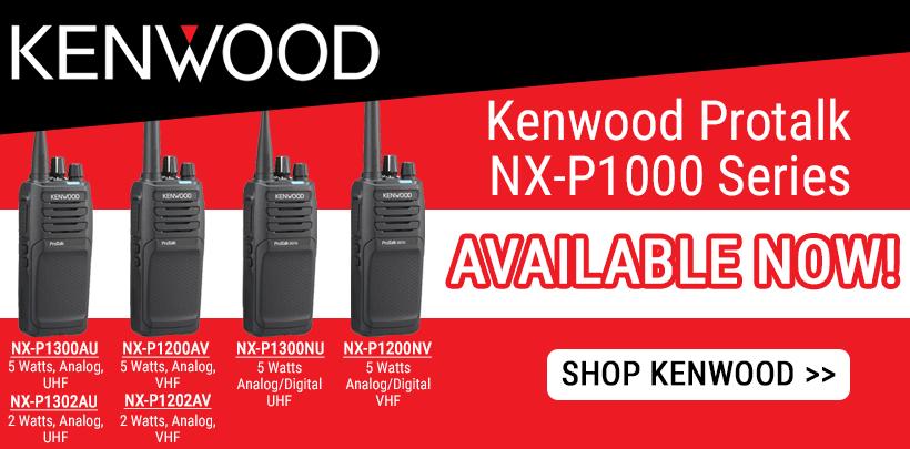 New Kenwood NX-P1000 Series Radios!