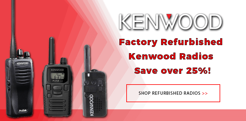 Kenwood Factory Reconditioned Radios