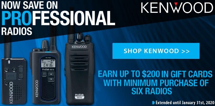 Kenwood $100-$200 Rebate
