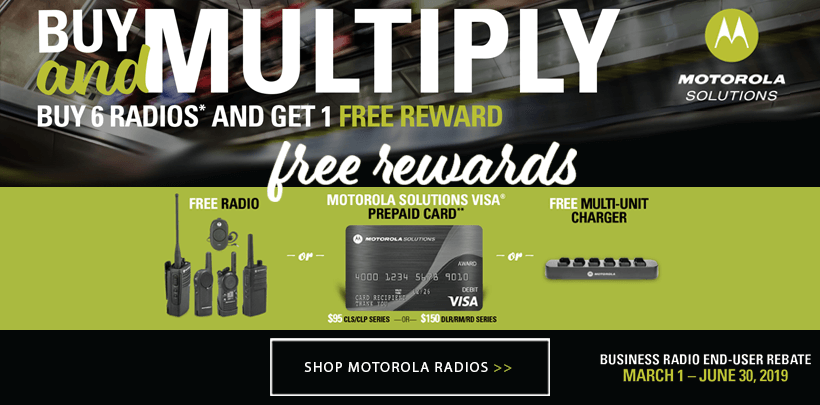 Motorola Buy and Multiply Rewards Offer
