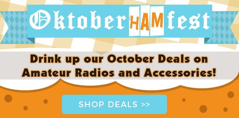 OktoberHamFest Sale on Amateur Two Way Radios