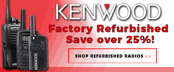 Kenwood Factory Authorized Refurbished Radios