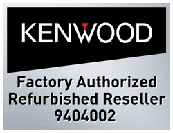 Authorized Kenwood Refurbished Reseller
