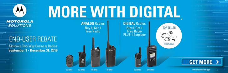 Motorola More With Digital Offer