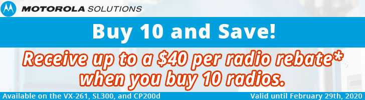Motorola SL300 $30 Rebate Offer