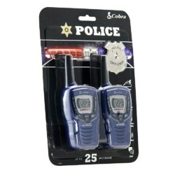Cobra Kids Series CX396A FRS Two Way Radios (Police Badge)
