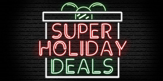 Super Holiday Deals!