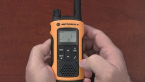 Radio 101 - How to set a Call Tone on a Motorola T-Series Radio