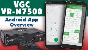 How to install and use the VGC VR-N7500 Android app