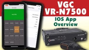 How to install and use the VGC VR-N7500 iOS app