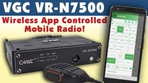 The VGC VR-N7500 Mobile Amateur Radio video