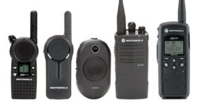 Motorola radios with antimicrobial protection