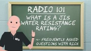 Radio 101 - What is a JIS Rating?​