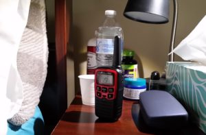 How walkie talkies can help when you're quarantined with an illness