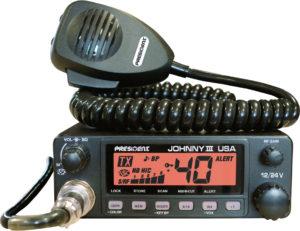 President JOHNNY III USA CB Radio