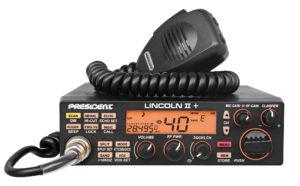 President LINCOLN II Plus Ham Radio