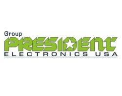 President Electronics USA Logo