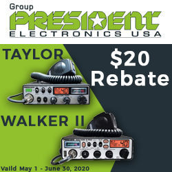 President CB Radio Rebate Offer!
