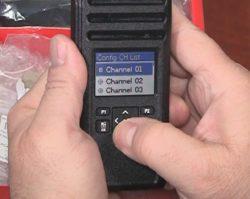 Motorola DTR600 Channels